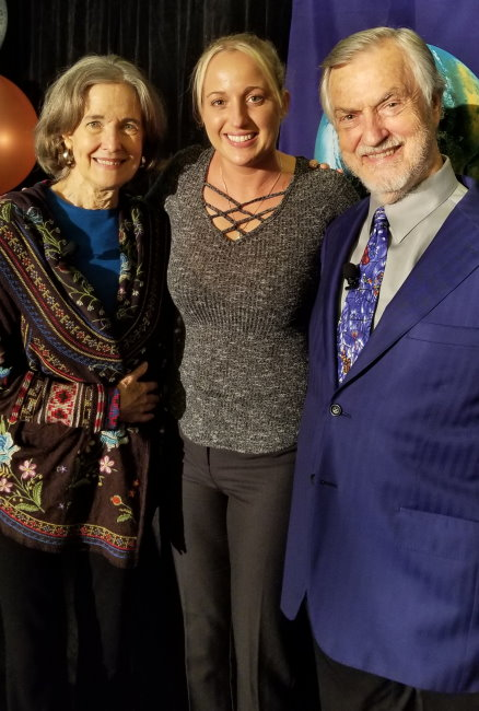 Dianna Westbrook with Harville Hendrix and his wife Helen Hunt, the founders and creators of Imago Relationship Therapy